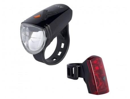 Oplaadbare lichtset AXA Greenline 30 LUX